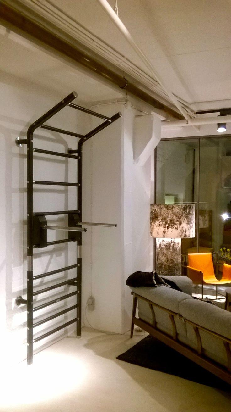 Design / Luxus Sprossenwand Maxwall Aus Holz Und Edelstahl Bei CLIC Im  Stilwerk Hamburg