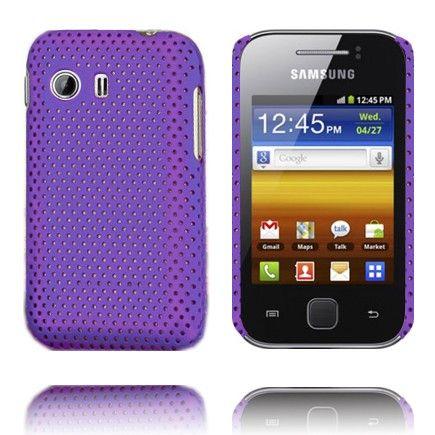 Atomic (Violetti) Samsung Galaxy Y Suojakuori