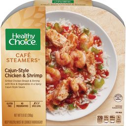Healthy Choice Cafe Steamers Cajun-Style Chicken & Shrimp