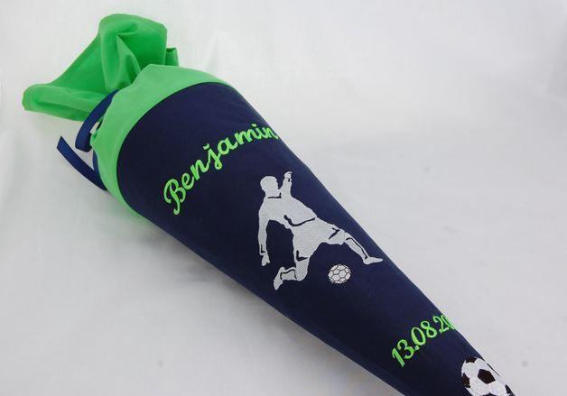 SCHULTüTE FUßBALL - 428 individuelle Produkte aus der Kategorie: Kind | DaWanda