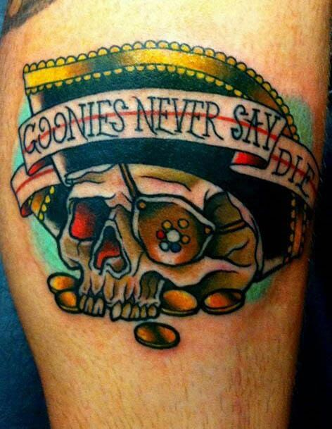 Never Say Die With These 15 Goonies Tattoos