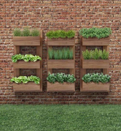 Mejores 32 im genes de deco de jardines en pinterest for Bloques de cemento para jardin