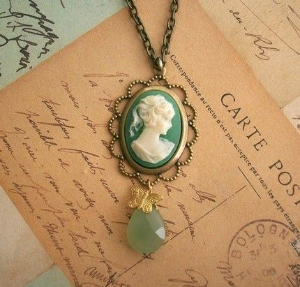 vintage cameo jewelry - Google Search