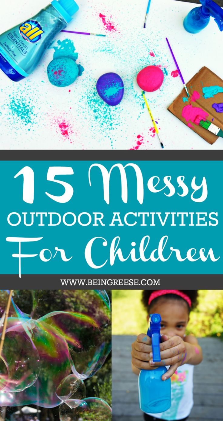 15 Summer Gel Nails: 15 Messy Summer Activities For Toddlers And Preschoolers
