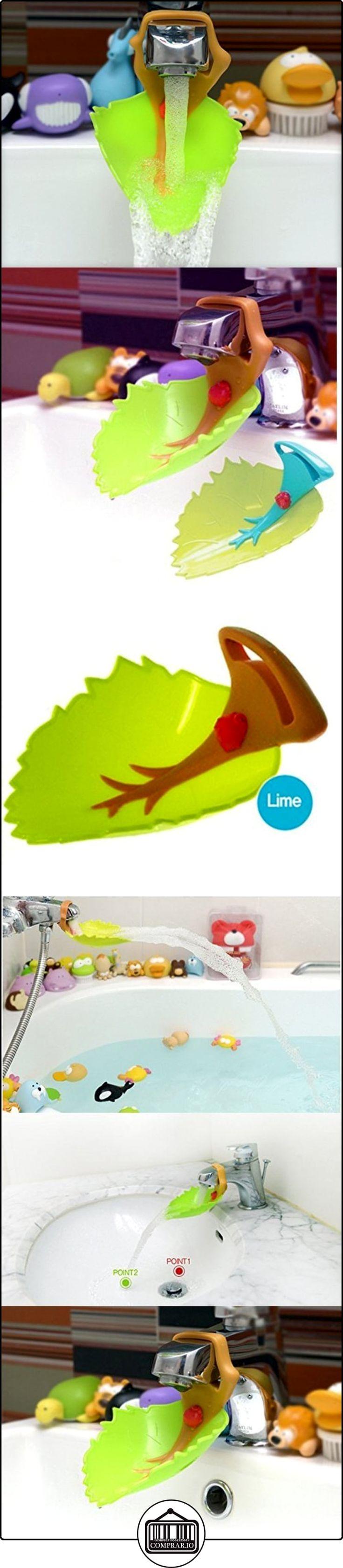 wuzmei Newest hojas tipo grifo extender-sink mango extensor para children-baby accesorios de baño make your kids love mano que deseen-embalaje de venta al por menor  ✿ Seguridad para tu bebé - (Protege a tus hijos) ✿ ▬► Ver oferta: http://comprar.io/goto/B01KG1TGUC