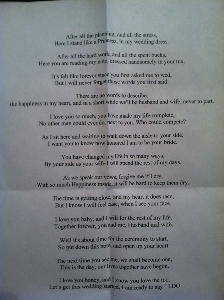 25+ best ideas about Wedding poems on Pinterest | Love ...