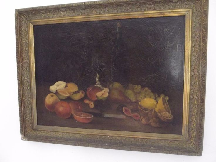 antique french painting #Realism