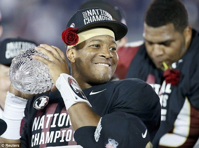 """Jameis Winston earned his 20th straight victory as starting quarterback of the Florida State Seminoles thanks to their thrilling 31-27 win over Notre Dame on Saturday night. But if the recent report from CBS Sports' Jason La Canfora is correct, Winston only has seven games left in his college career.According to La Canfora's sources, """"it has become a certainty he will declare for the NFL Draft."""""""
