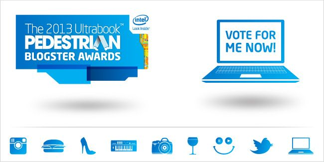 Please vote for me in The Blogster Awards