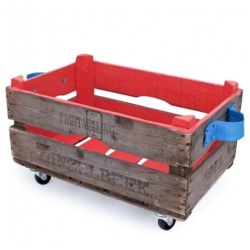 Opbergbox anemoon rood, handig om allerlei spulletjes in op te bergen. €38,95