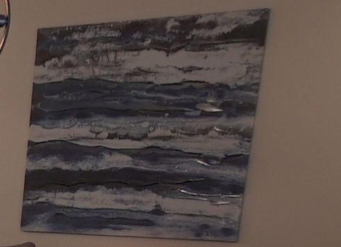 Bouclair, 9388669, Foil Fossil Art
