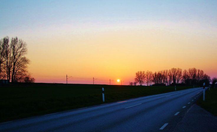 Soluppgång på Österlen
