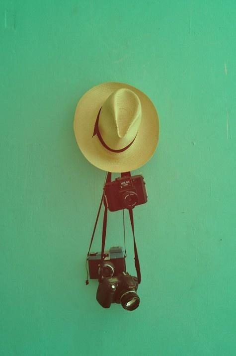Cowboy Hat, Holga Camera, Film Camera, Digital Camera. #Photographer #PhotoGirl