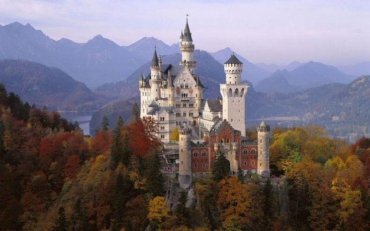 Альпийское сокровище - замок Нойшванштайн