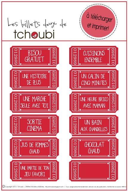 Tchoubi ::: Petites histoires créatives: Billets doux pour la St-Valentin
