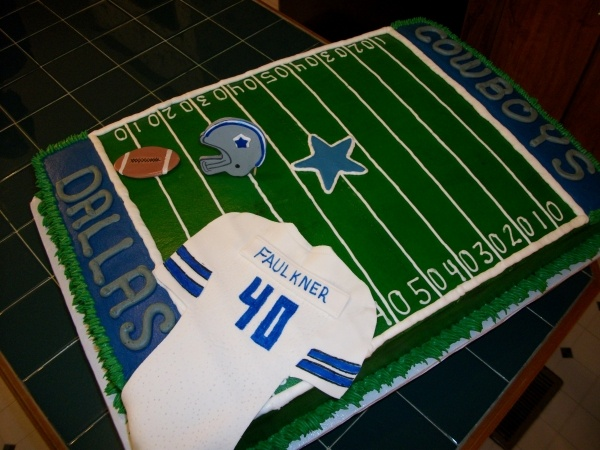 Football 40th Birthday but not cowboys@suzie
