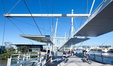 KURLIPA BRIDGE by Cox Rayner Architects, Arup
