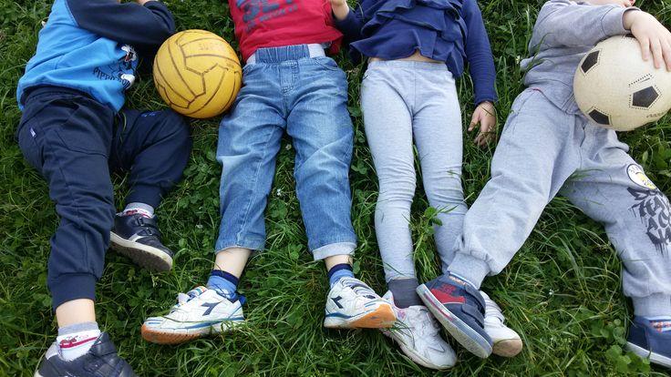 IN GIARDINO - pre e post scuola ''Itinera'' scuola dell'Infanzia via F.lli Cervi Melzo(MI) - #play #school #book