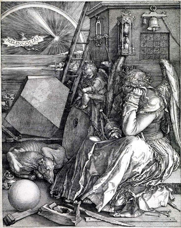 Albrecht Dürer, Melanconia.