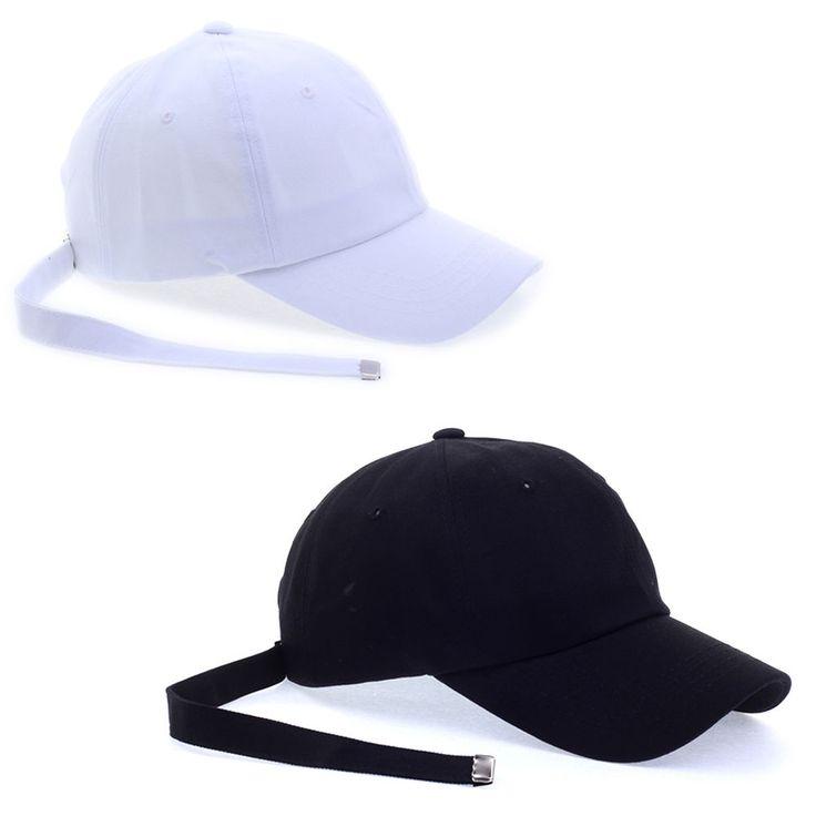 Big Bang G-Dragon GD Long Strap Back Trucker Baseball Strapback Hat Caps 2Colors #hellobincom #TruckerBaseballCapHats