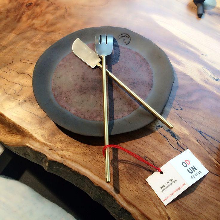 ODUN design El Yapımı Çatal&Bıçak ZMix Nişantaşı'nda.   ODUN design Hand Made Knives&Forks in ZMix Nişantaşı. www.odundesign.com
