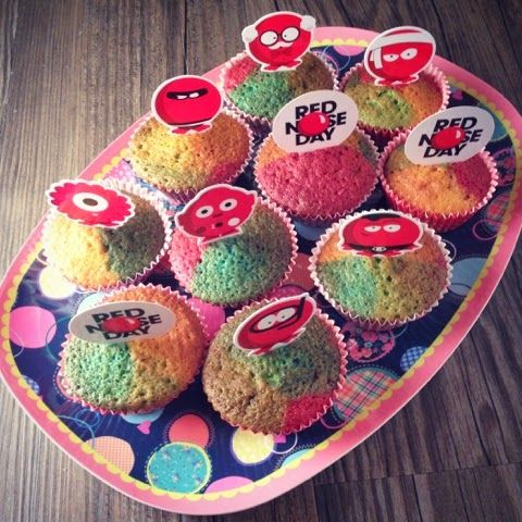 GBBO Comic Relief Bake Off, Somewhere Over The Rainbow Cakes