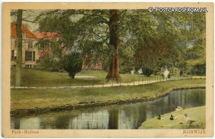 Rijswijk ZH, Park - Hofrust 1929