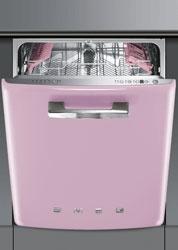 Smeg Diskmaskin ST2FABRO Integrerad Rosa