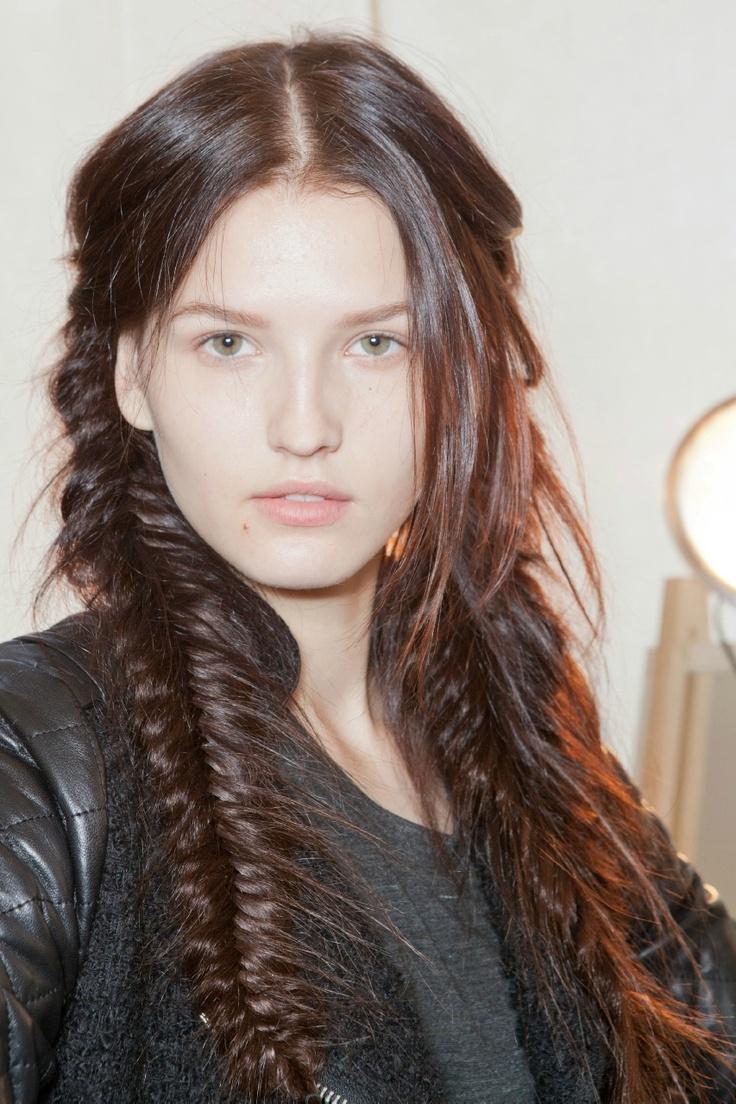 ТРЕНДЫ: , , Небрежная коса