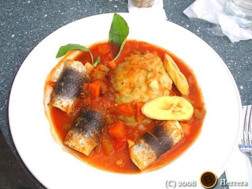 Cou Cou and Flyin' Fish Is Our National Dish