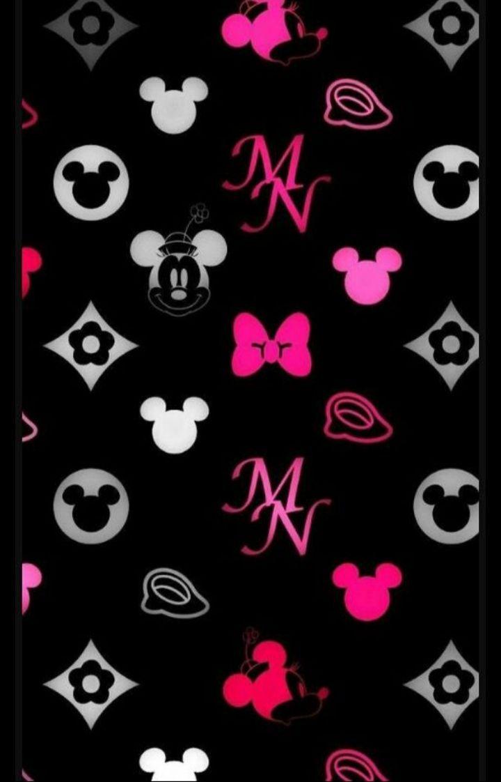 Fondos De Pantalla Wallpapers Fondo De Minnie Mickey Mouse Wallpaper Mickey Mouse Background Cartoon Wallpaper