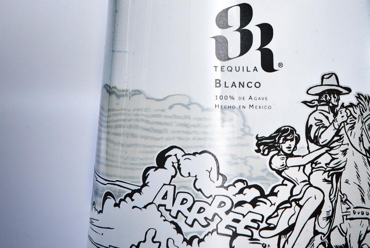 3R Blanco main label detail