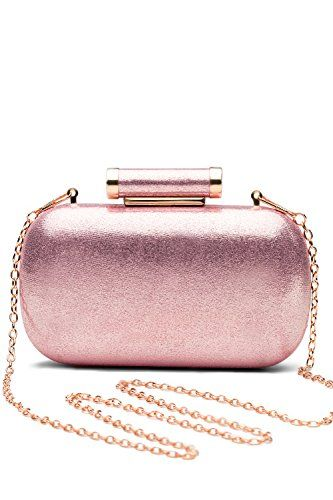 New Trending Shoulder Bags: Women Clutch Box Purse Hard Case Evening Bag Glitter Handbag With Chain Strap (pink). Women Clutch Box Purse Hard Case Evening Bag Glitter Handbag With Chain Strap (pink)  Special Offer: $18.00  433 Reviews This chic clutch box is exactly the thing you need to bright up your festive look and to serve you as a perfect part of any party / cocktail / evening / prom outfit....