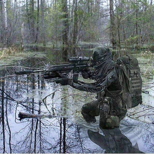 Swamp Monster  - Via: @military