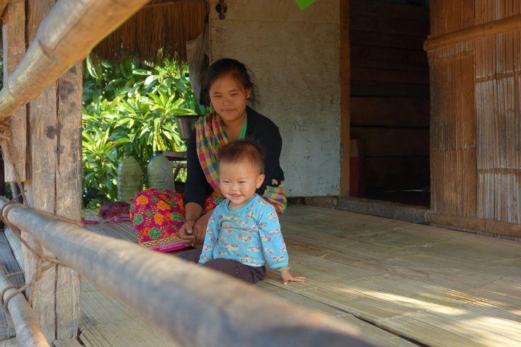Chiang Rai trek. Village Lahu.