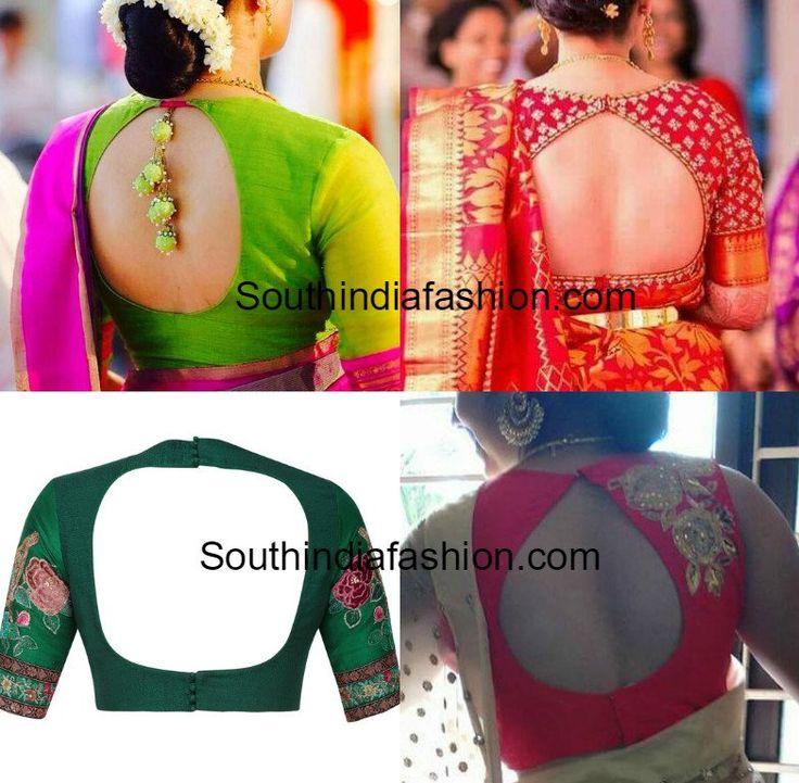 blouse-back-neck-designs-silk-sarees.jpg (783×768)