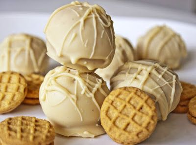 Nutter Butter Truffles | So Freakin' Delicious!