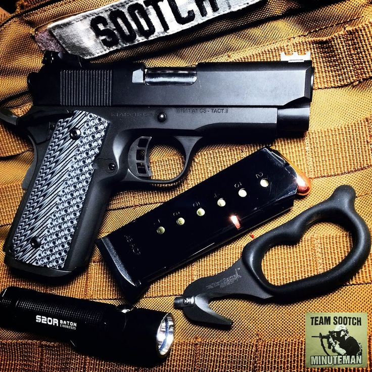 Rock Island Armory 1911 Compact Ultra Tactical 45 ACP Pistol Review