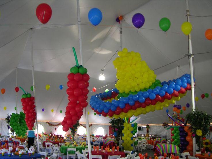1000 images about adult balloon decor on pinterest bar - Globos para fiesta ...