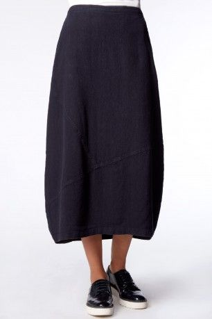 Sahara Textured Linen Bubble Skirt