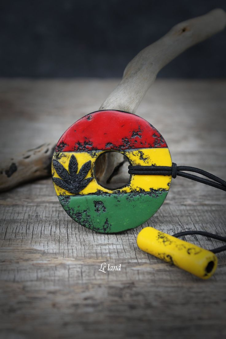 Rasta dread hair tie rasta jewelry rastafari jewelry Rasta Colors tie pot leaf dreadlock tie african dread hair accessory Rasta Loc Holder by Lelandjewelry on Etsy