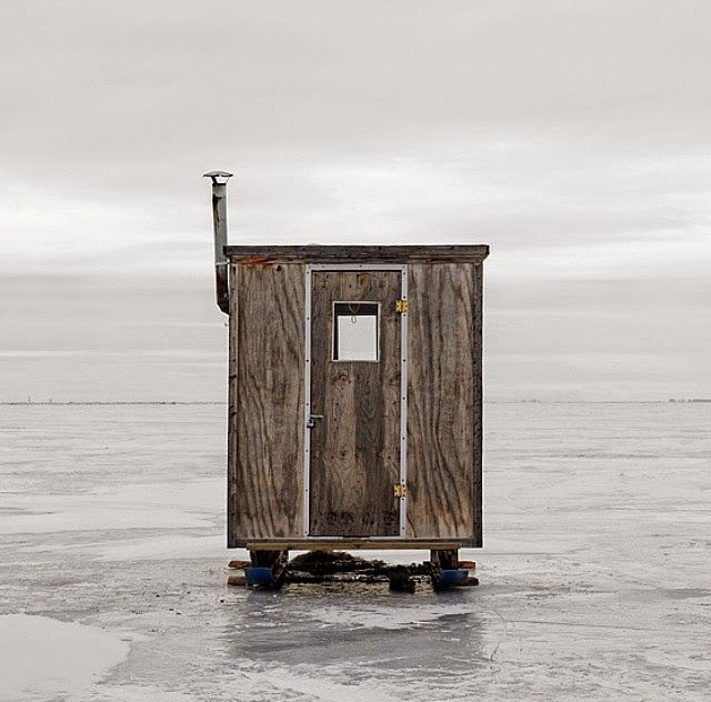 Photographer Richard Johnson Captures the Rustic Beauty of Canada's Ice Fishing Huts   Junkculture