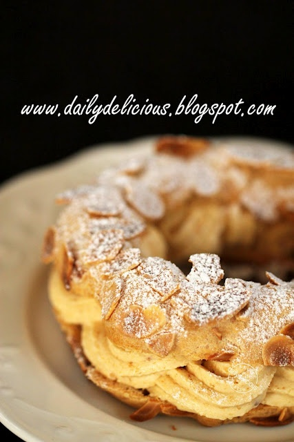 Paris Brest: Deliciously rich choux pastry