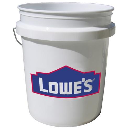 Food Grade  Gallon Bucket Lowes