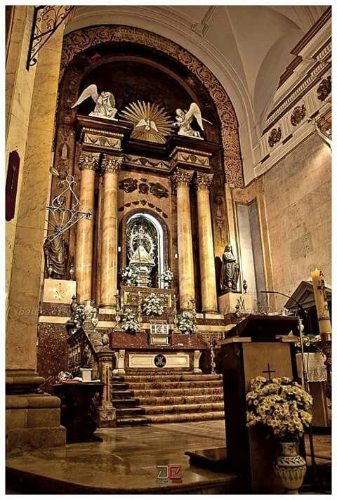 Basílica Nuestra Señora del Prado. Altar principal. Talavera de la Reina.