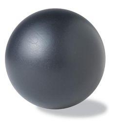 Een bal. Dit is een voorbeeld van eigen schaduw. de schaduw op het object is  aanwezig op de niet belichte kant van het voorwerp. De ene kant van het object is licht en de andere kant is donker.