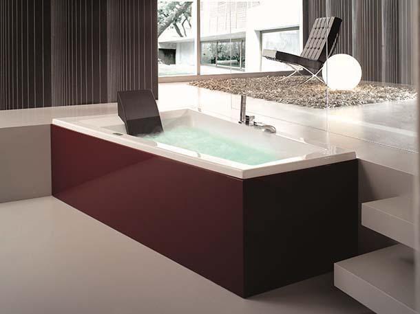 Vasca Da Bagno Con Pannelli : La vasca da bagno di design con pannello di rivestimento laccato