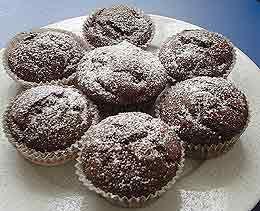 Bild Von Schnelle Schoko   Kirsch   Muffins