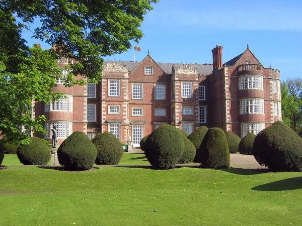 Whitby Park in my story, but really Burton Agnes Hall in Yorkshire: