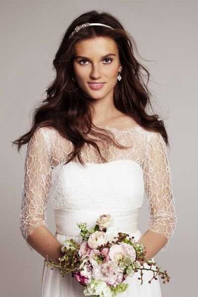 Rowan (#1105B)  Crinkle chiffon and a delicately ruched bodice set this strapless gown apart. The slight sweetheart neckline provides suppor...